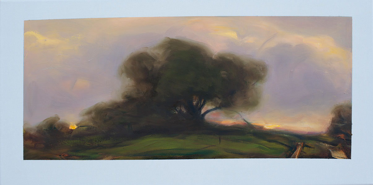 Peter Frie, Some trees in September 8 100x50